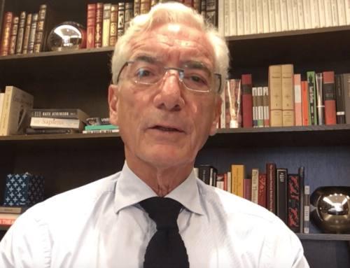 Special message from Sir Ronald Cohen