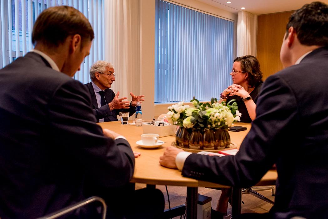 Sir Ronald Cohen staatssecretaris Tamara van Ark Social Impact Bonds