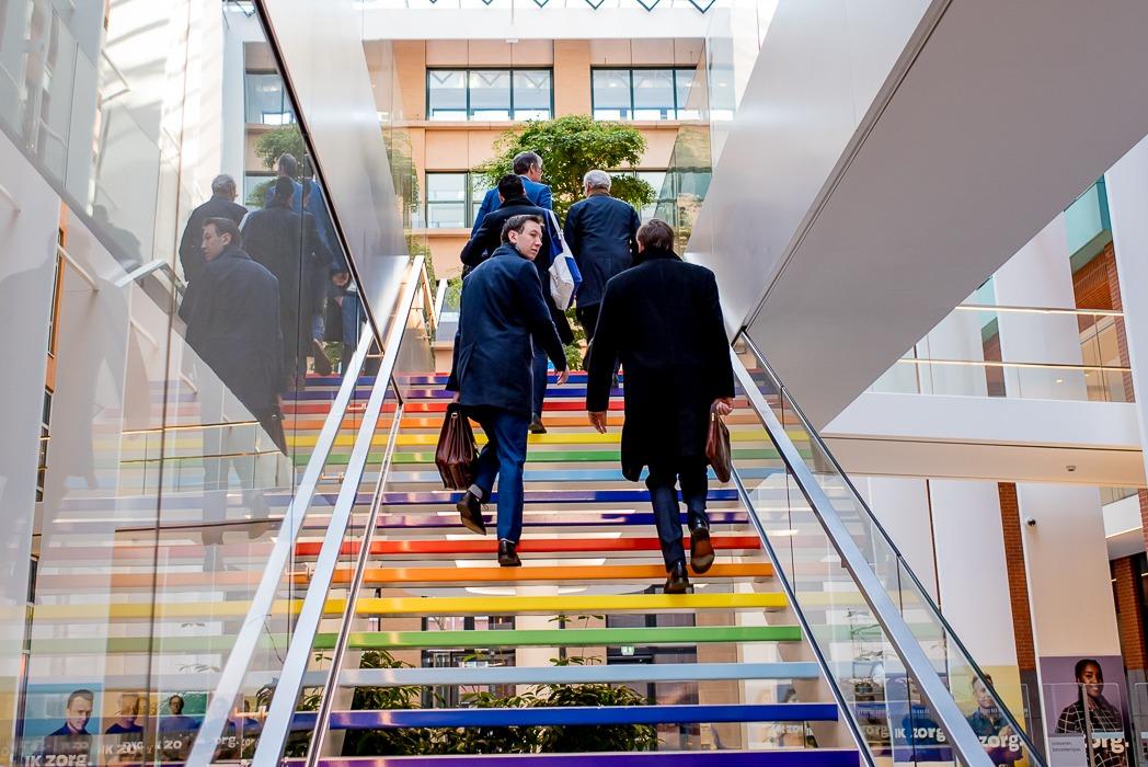 Social Finance NL ministerie van Sociale Zaken trap