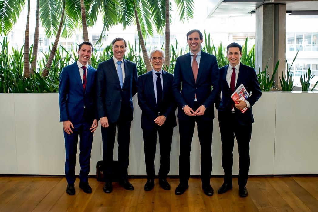 Social Finance minister van Financiën Wopke Hoekstra