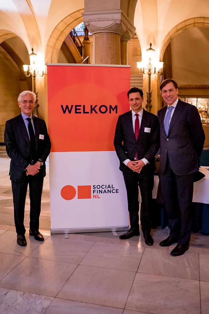 Sir Ronald Cohen, Ruben Koekoek en Jeroen Rijpkema