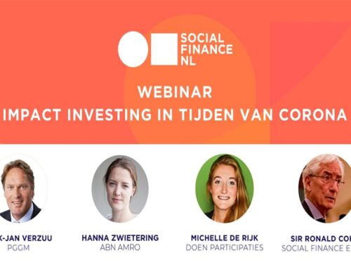 [VIDEO] Webinar impact investing in tijden van Corona